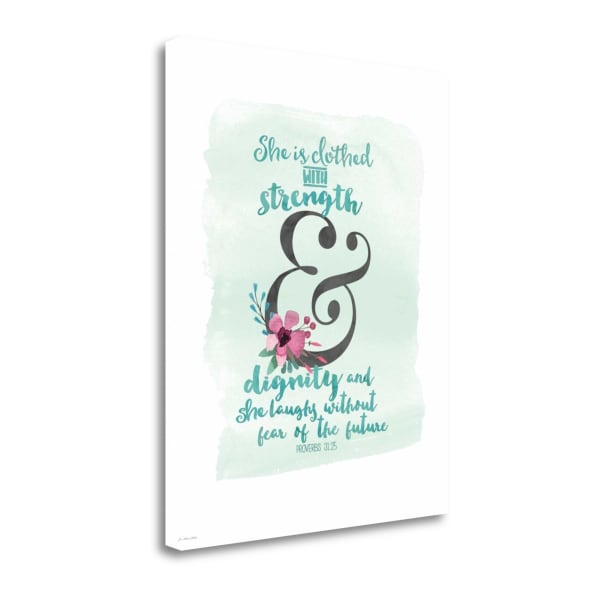 Strength And Dignity By Jo Moulton Wrapped Canvas Wall Art
