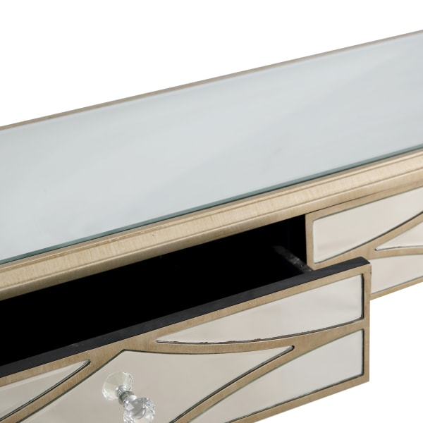 Huxley Wall Mirror and Console Table Set