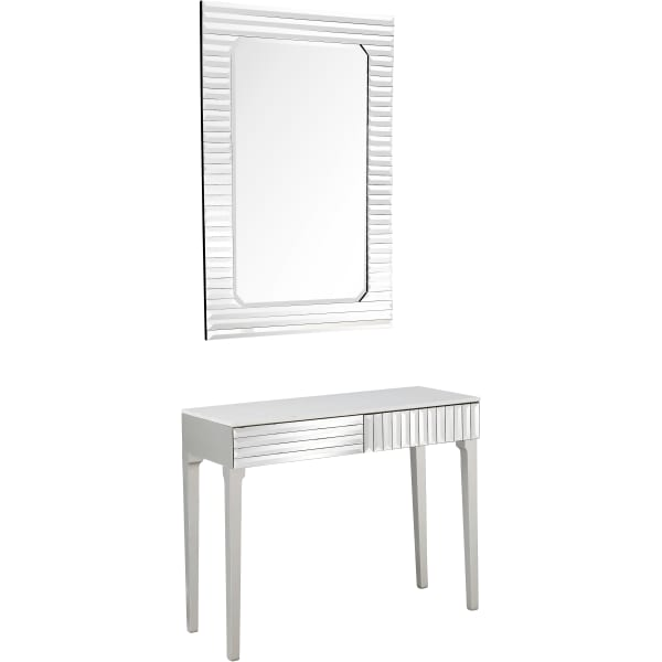 Carla Wall Mirror and Console Table Set