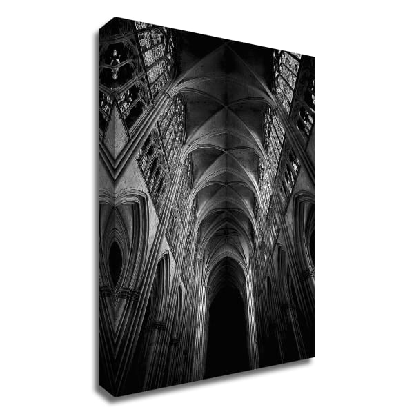 Architecture 3 by Design Fabrikken Wrapped Canvas Wall Art