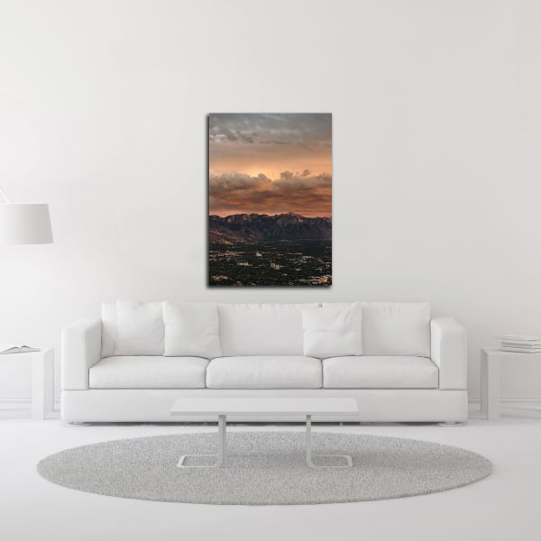 Bishop 10 by Design Fabrikken Wrapped Canvas Wall Art