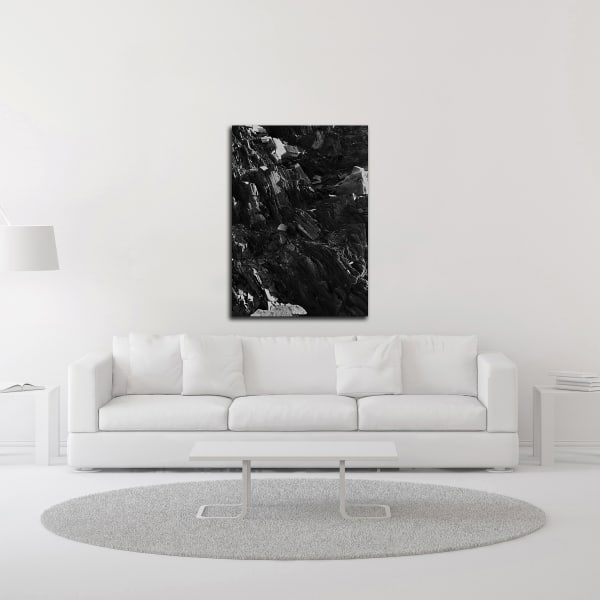 Black Rock by Design Fabrikken Wrapped Canvas Wall Art