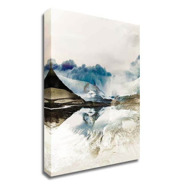 The Rising 2 by Design Fabrikken Wrapped Canvas Wall Art
