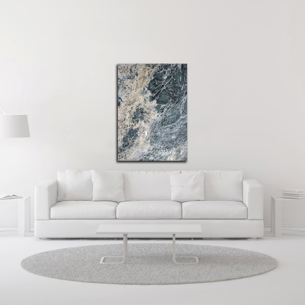 Marble 2 by Design Fabrikken Wrapped Canvas Wall Art