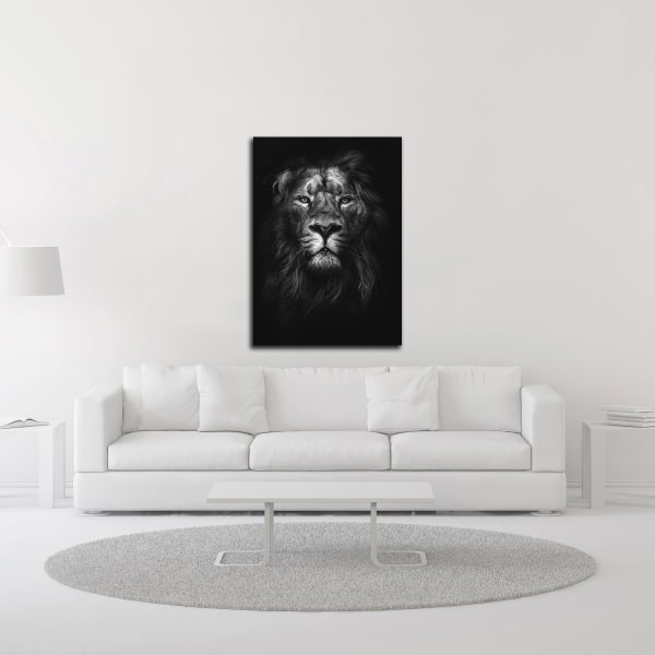 King of Kings by Design Fabrikken Wrapped Canvas Wall Art