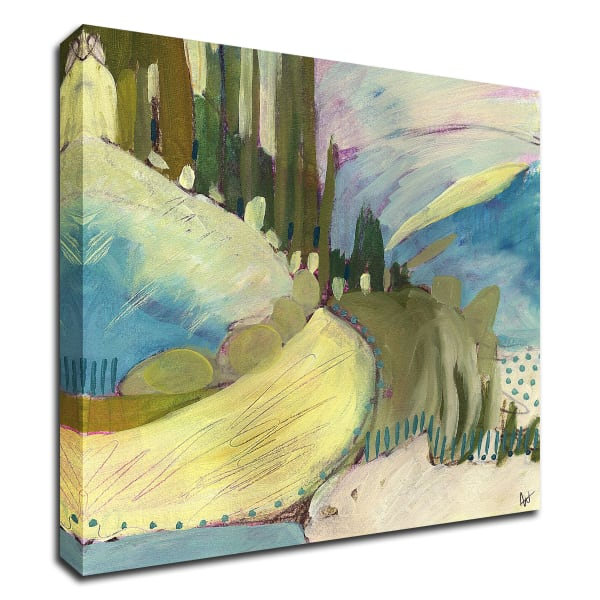 Explore No. 8 by Ann Thompson Nemcosky Wrapped Canvas Wall Art