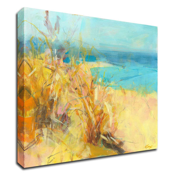 If You Were Here by Angela Saxon Wrapped Canvas Wall Art