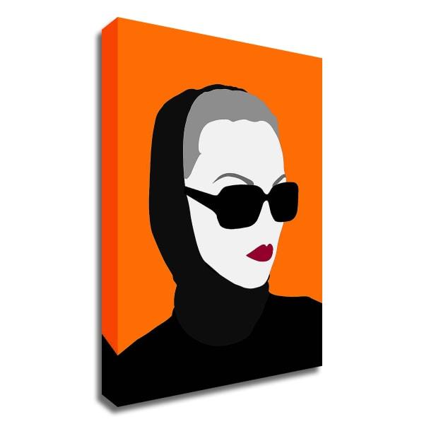 Lady No. 10 by Sean Salvadori Wrapped Canvas Wall Art