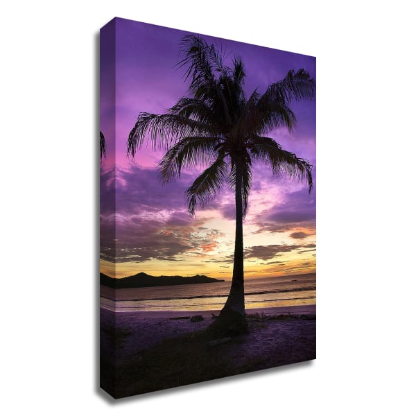 Brasalito Bay Costa Rica by Winthrope Hiers Wrapped Canvas Wall Art