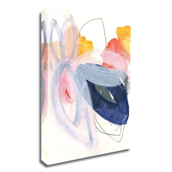 Abstract Painting XVII by Iris Lehnhardt Wrapped Canvas Wall Art