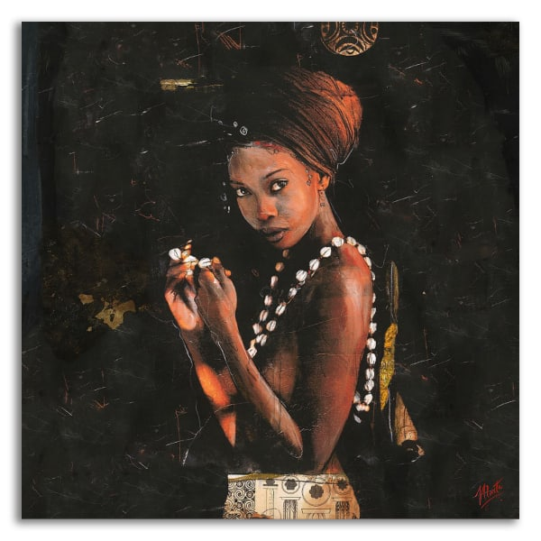 Queen of Excellence by Marta Wiley Wrapped Canvas Wall Art
