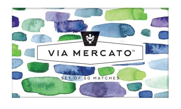 Via Mercato Blue Scented Matches