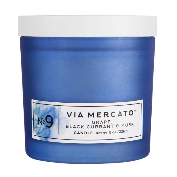 Via Mercato No. 9 8 Candle