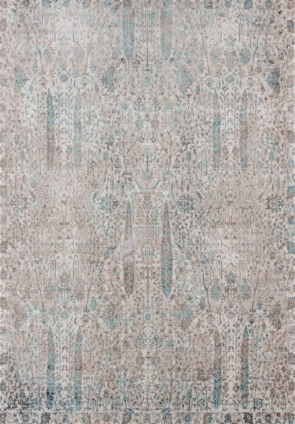 Faded Neutral Tones 12' x 15' Rug