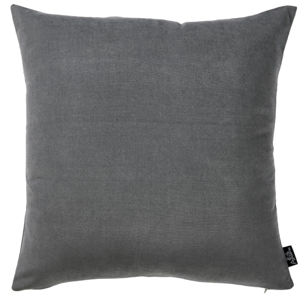 Decorative Grey Set of 2 Pillow Covers