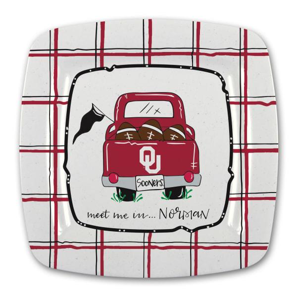 Oklahoma Melamine Truck Outdoor Platter