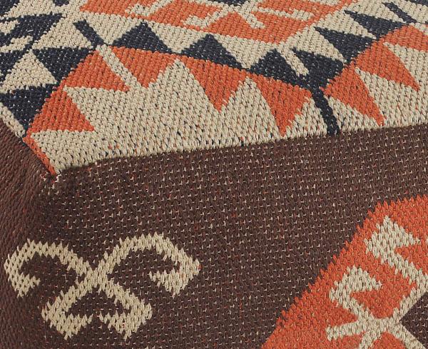 Southwestern Multicolored Pouf