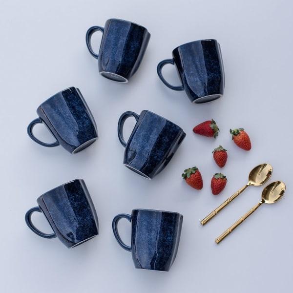 RYO Dark Blue 12 Piece Mug Set