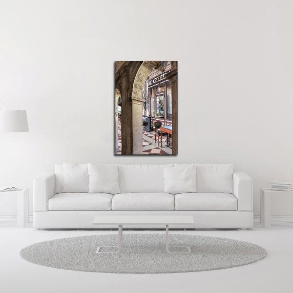 Caffe Florian Arc #1 by Alan Blaustein Wrapped Canvas Wall Art