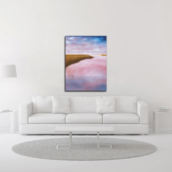 Lowlands by Michael A. Diliberto Wrapped Canvas Wall Art