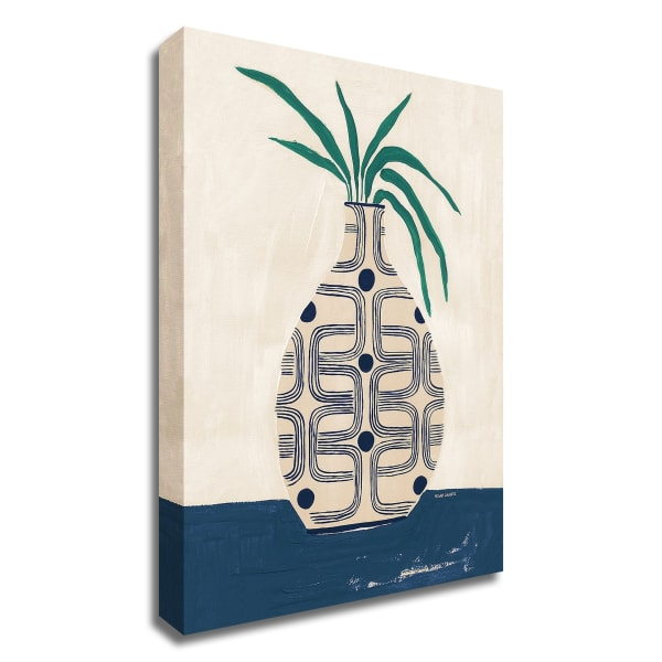 Beverly Vase by Megan Galante Wrapped Canvas Wall Art