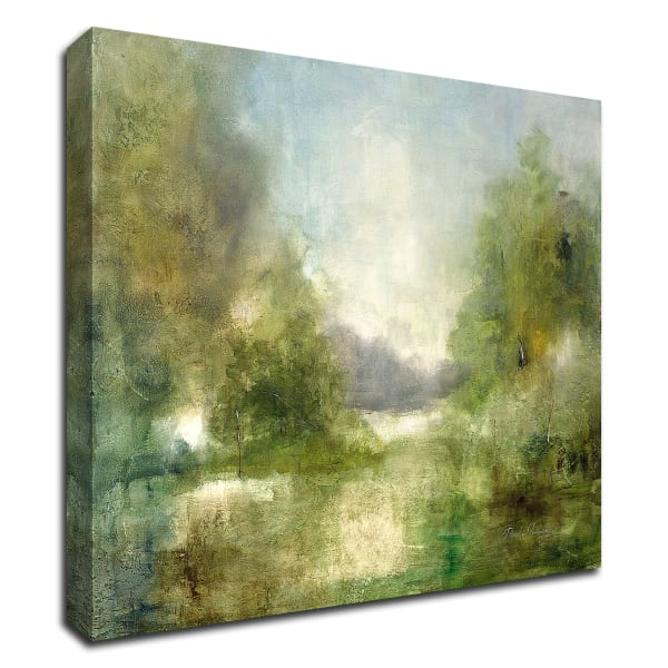 Our Sunday Hike by J Austin Jennings Wrapped Canvas Wall Art