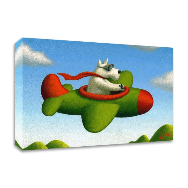 Frequent Flier No. 1 by Chris Miles Wrapped Canvas Wall Art