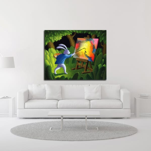 The Artist by Chris Miles Wrapped Canvas Wall Art