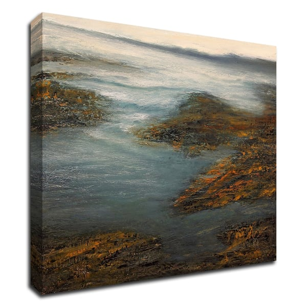 Rocky Cove by Michael Mote Wrapped Canvas Wall Art