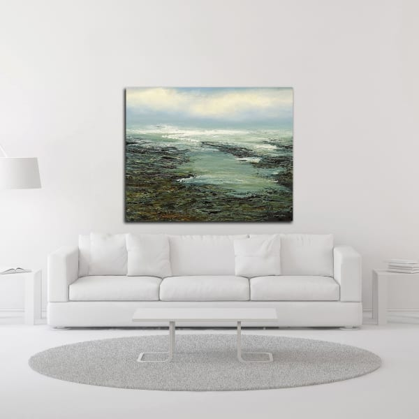 Shallow Reef by Michael Mote Wrapped Canvas Wall Art