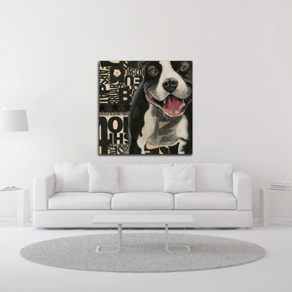 Pit Pat by Judy Verhoeven Wrapped Canvas Wall Art