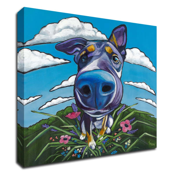 Head in the Clouds by Kathryn Wronski Wrapped Canvas Wall Art