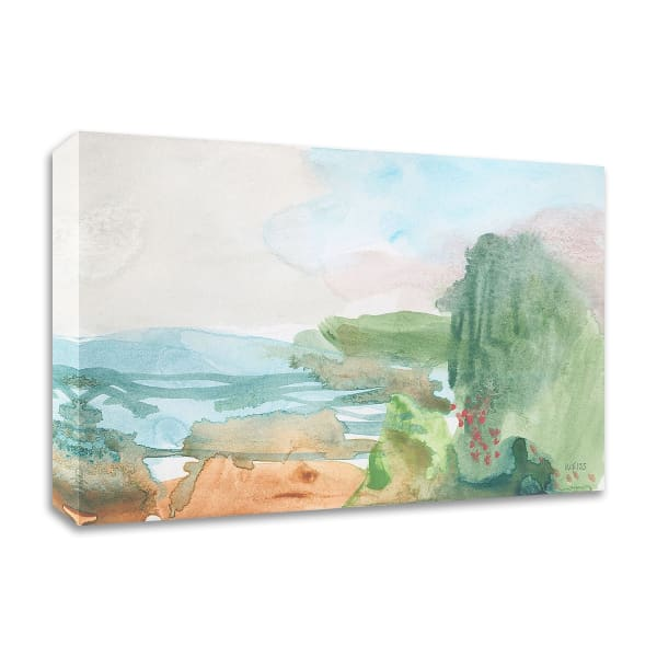 Dreamed of Joy Departed by Jan Weiss Wrapped Canvas Wall Art
