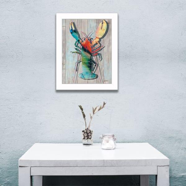 Lobster II By Sear Framed Wall Art
