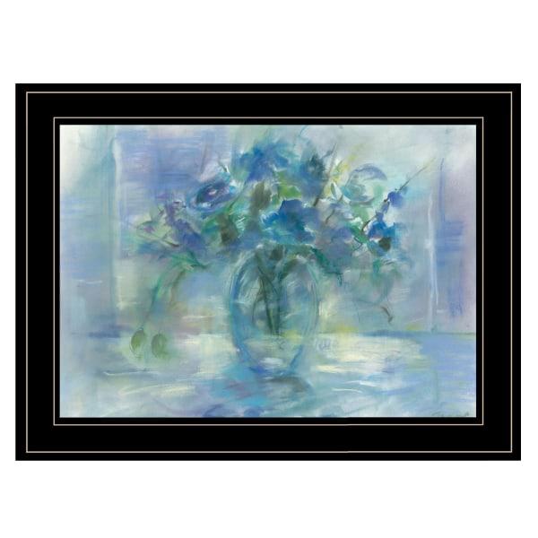 Susie's Blue By Tracy Owen Framed Wall Art