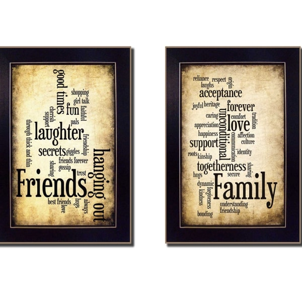 Friends and Family Collection By Susan Ball Framed Wall Art