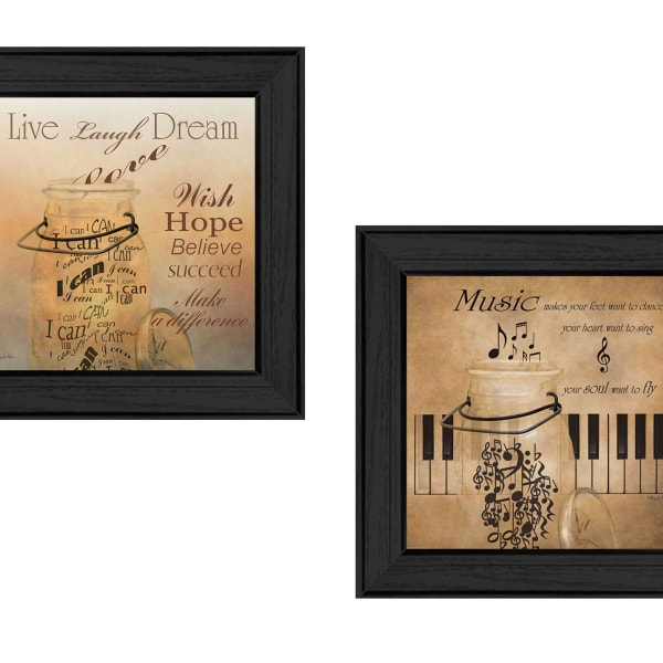 Music Collection By Robin-Lee Vieira Framed Wall Art