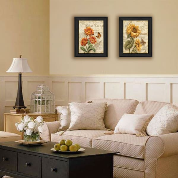 Flowers Collection By Ed Wargo Framed Wall Art