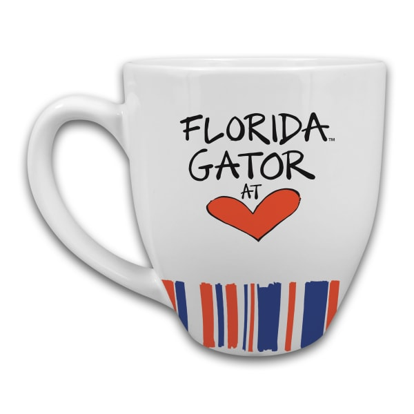 Florida Heart Set of 2 Mugs