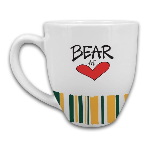 Baylor Heart Set of 2 Mugs