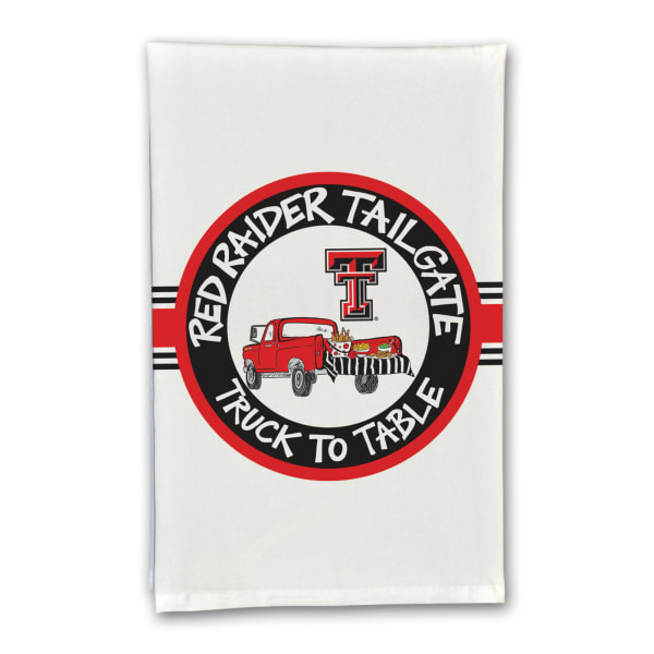 Texas Tech Tailgate Truck Set of 2 Hand Towels
