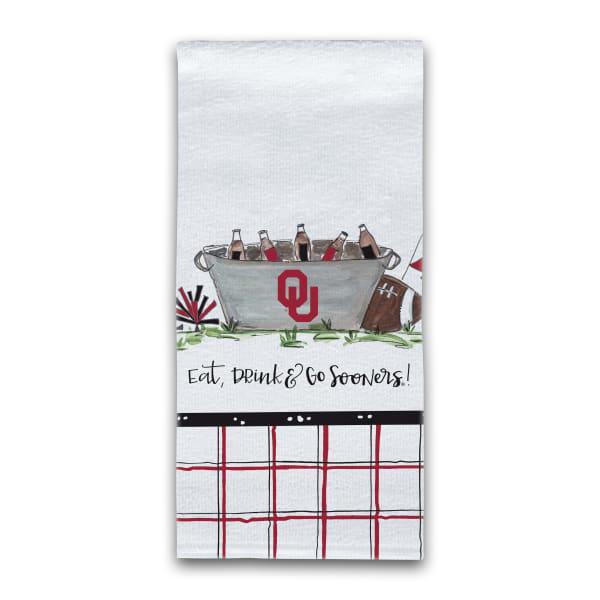 Oklahoma Football Set of 2 Hand Towels