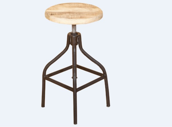 Squared Off Natural Wood Nesting Set of 2 Coffee Tables