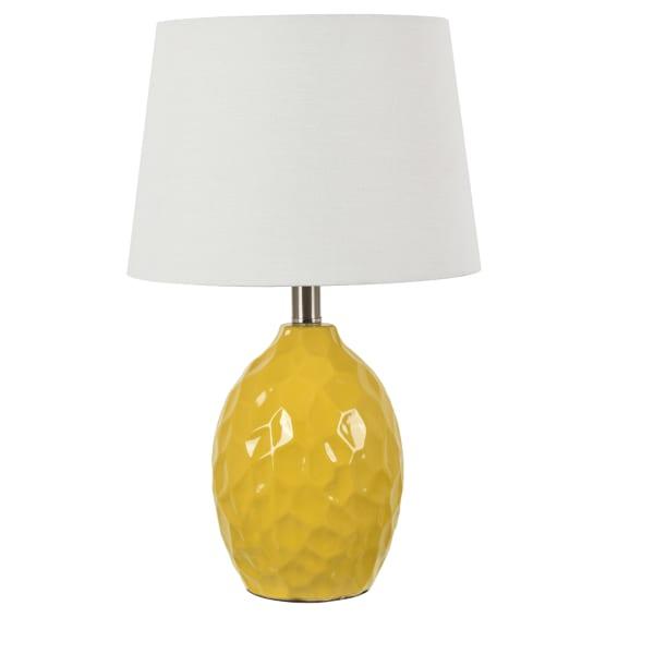 Riley Yellow Ceramic Table Lamp