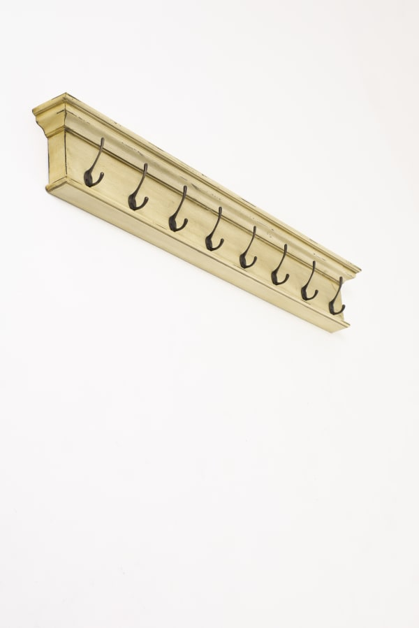8-Hook Wall Mounted Coat Rack