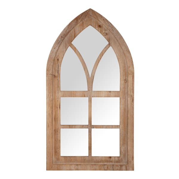 Gothic styled Window Frame Wall Mirror Decor