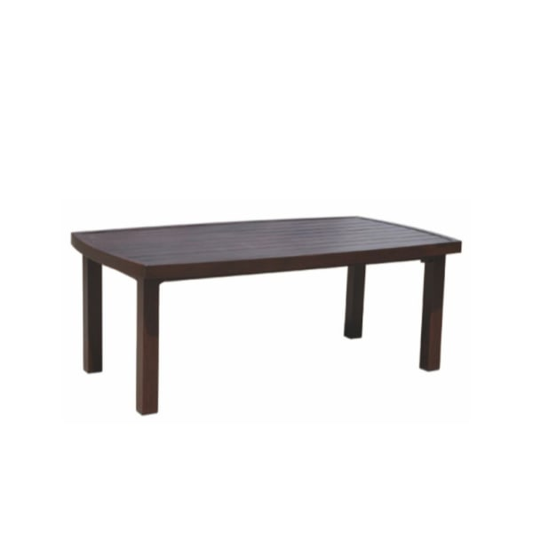 Courtyard Casual Cabo Aluminum Rectangle Outdoor Coffee Table
