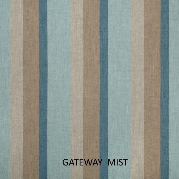 Sunbrella Mist/Silver Set of 2 Outdoor Pillows