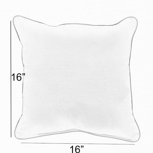 Sunbrella Gateway Mist/Cast Silver Set of 2 Outdoor Pillows