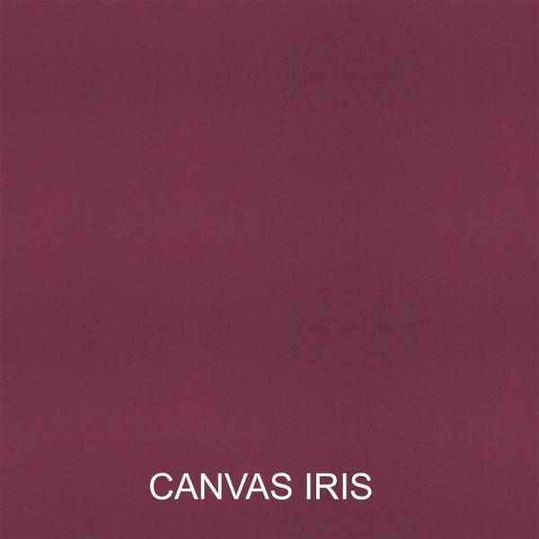 Sunbrella Corded Canvas Iris/Canvas Navy Set of 2 Outdoor Lumbar Pillows
